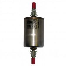 GB-320 фильтр топливный ВАЗ/GM/VAG/FIAT инжектор (металл гальв.) (WK512)