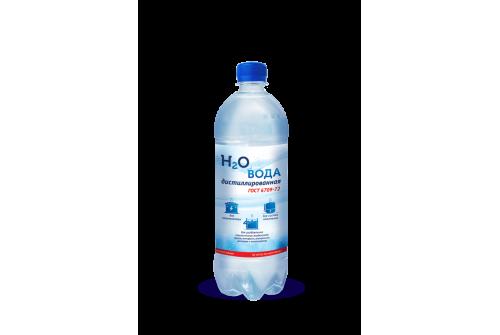 Вода дистилированная техническая 2л