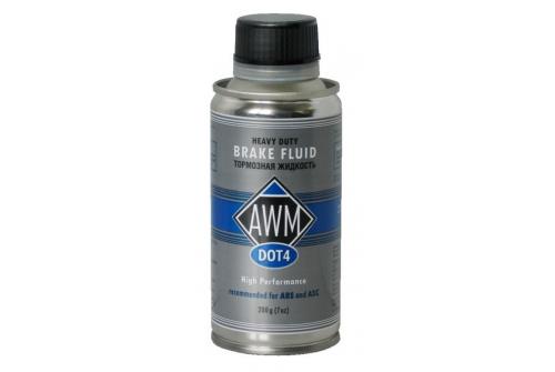 Тормозная жидкость AWM DOT-4  200 г