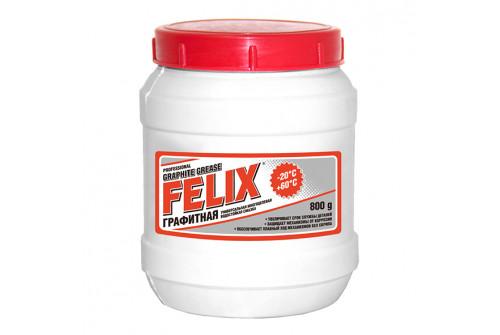 Смазка Графитная Felix банка 800 гр