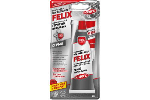 Герметик-прокладка FELIX (серый) 100 г.