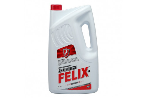 Антифриз FELIX (красный)   5кг
