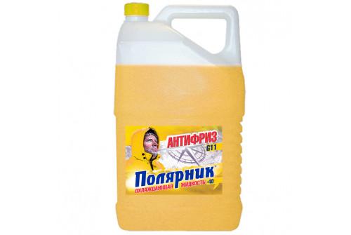 Антифриз Полярник(-40) желтый, в п/э кан.10кг