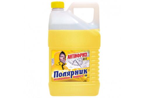 Антифриз Полярник(-40) желтый, в п/э кан.5кг