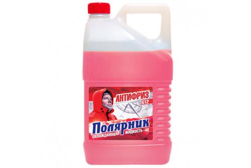Антифриз Полярник(-40) красный, в п/э бут. 3кг