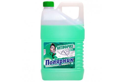 Антифриз Полярник(-40) зеленый, в п/э бут. 3кг