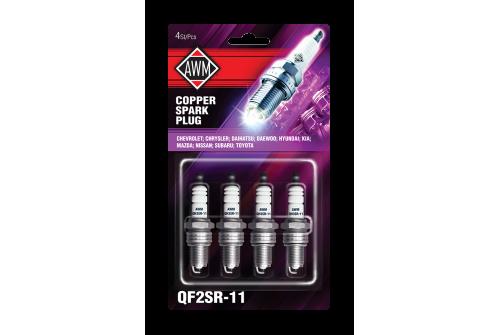 QF2SR-11AWM свечи зажигания искр.(медь, компл.4шт)