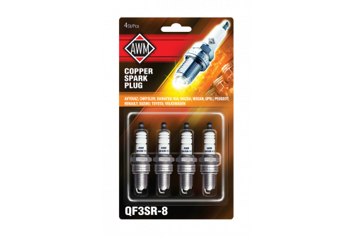 QF3SR-8 AWM свечи зажигания (медь, комплект 4 шт.)