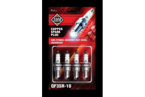 QF3SR-10AWM свечи Volk/Au/Mer/Skoda (медь, 4шт)