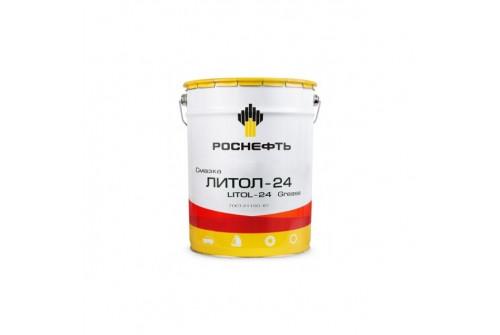 Смазка антифрикционная многоцелевая Литол-24, ведро 20,5л
